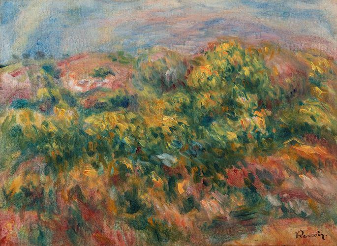 Pierre-Auguste Renoir - Paysage | MasterArt