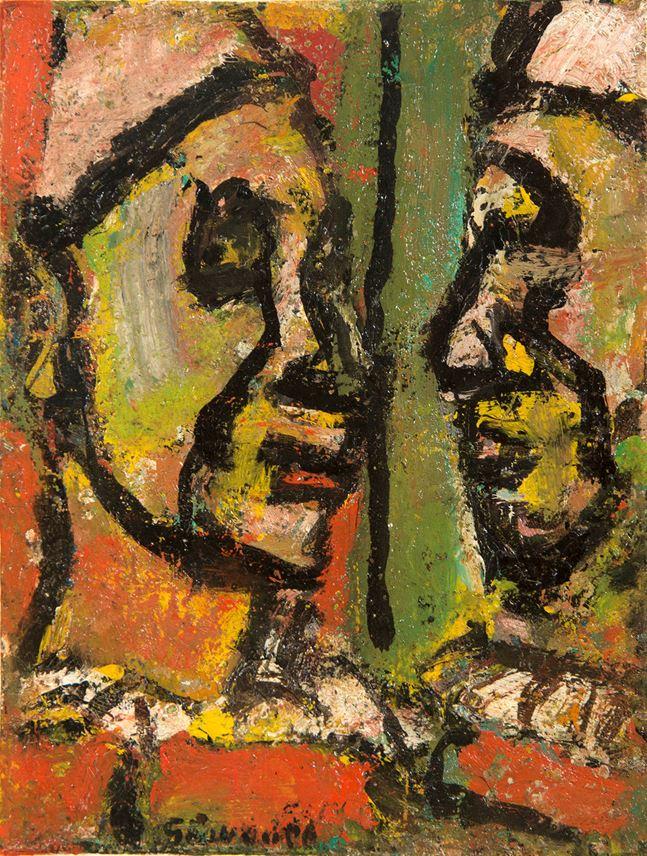 Georges ROUAULT - Face à face | MasterArt