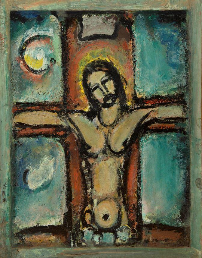 Georges ROUAULT - Christ en croix | MasterArt