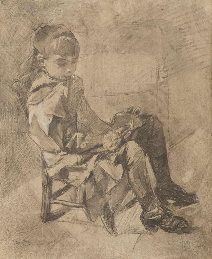 Henri Toulouse-Lautrec - Mademoiselle Béatrix Tapié de Céleyran | MasterArt