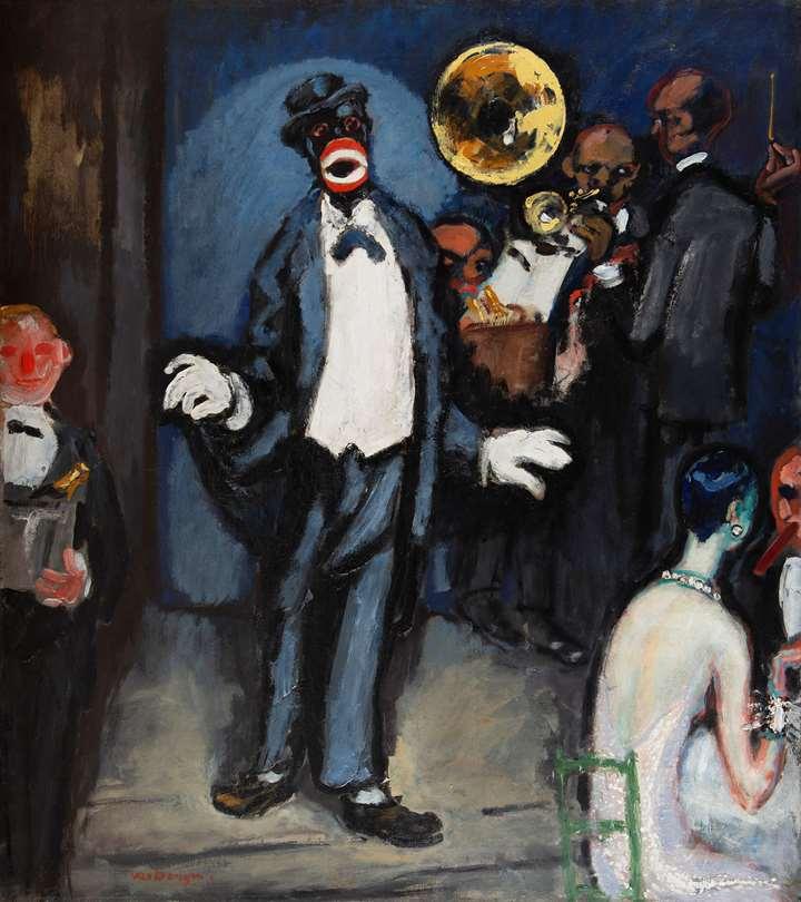 Nightclub, Jazz Band, le Chanteur Johnny Hudgins