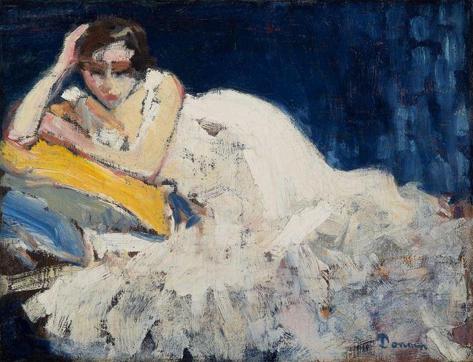Kees Van Dongen - Femme couchée | MasterArt