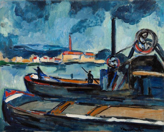 Maurice de Vlaminck - La Seine à Chatou | MasterArt