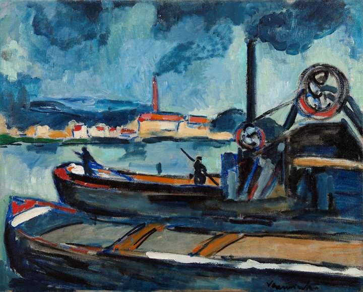 La Seine à Chatou