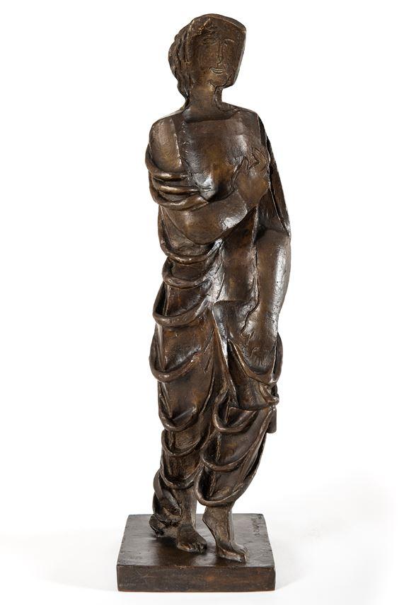 Ossip Zadkine - Figurine drapée | MasterArt