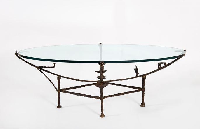 Diego GIACOMETTI - Table Carcasse, modèle à la chauve-souris   MasterArt