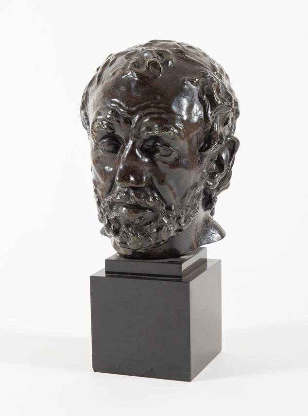 Auguste  RODIN - Tête de l'homme au nez cassé, version dite type II, premier modèle | MasterArt