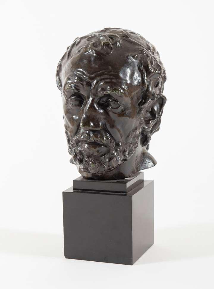 Tête de l'homme au nez cassé, version dite type II, premier modèle