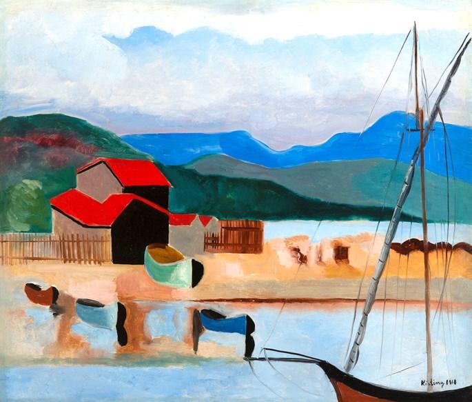Moise Kisling - Saint-Tropez | MasterArt