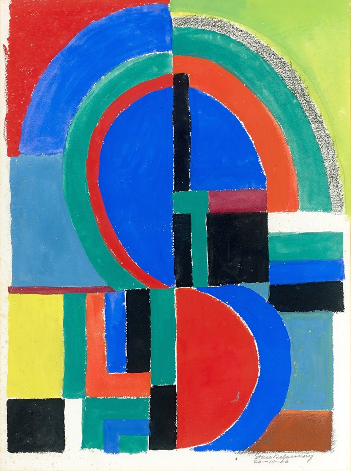 Sonia DELAUNAY - Rythme Couleur | MasterArt
