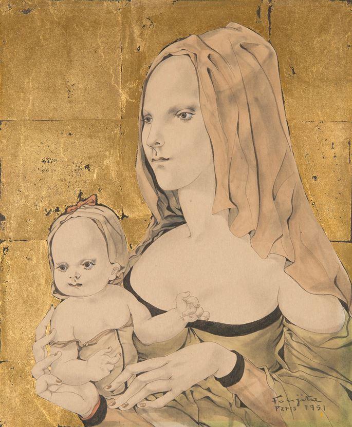 Tsuguharu Foujita - Maternité | MasterArt