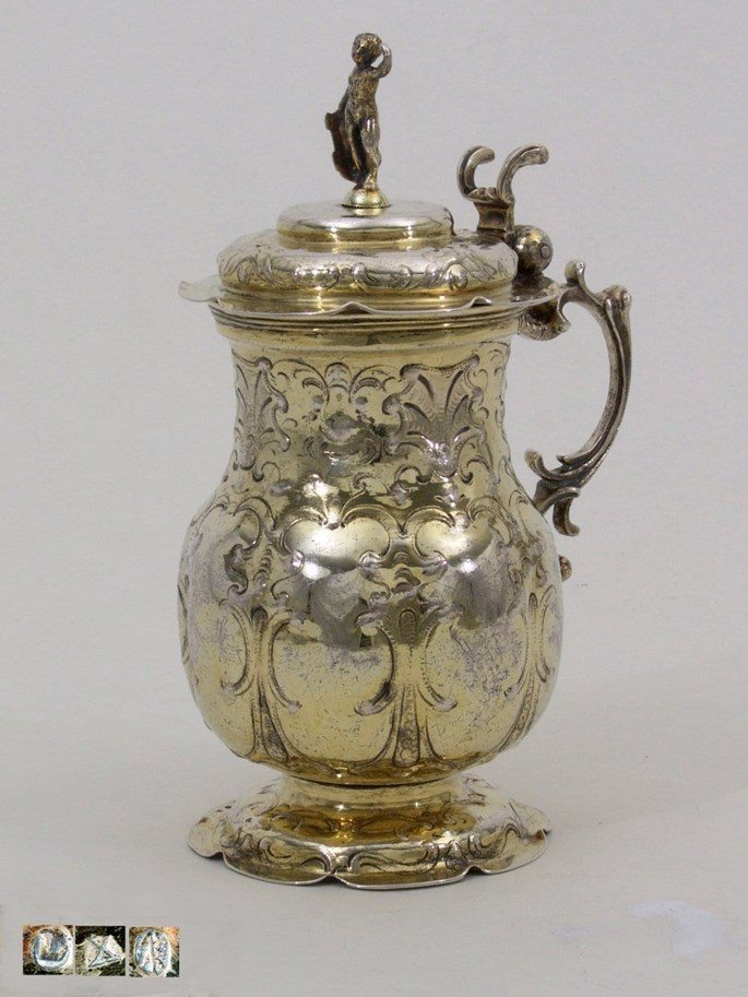 Andreas Kauxdorf The Elder - Fine Early German Silver-Gilt Jug with Lid | MasterArt