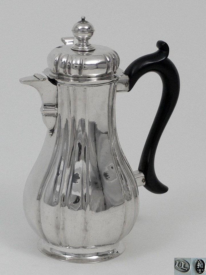 German Silver Chocolatpot