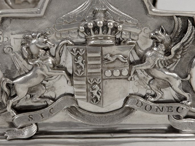 German Silver Monteith Bowl with English Provenance | MasterArt
