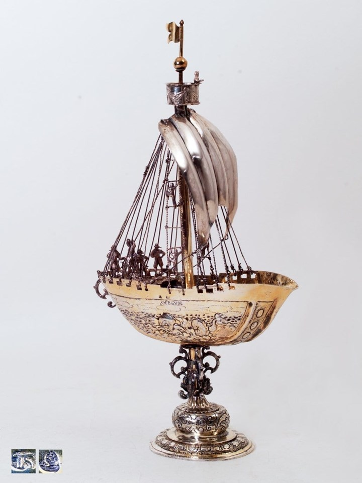 German Nef (Ship) of the Seventeenth Century