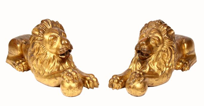Pair of lions | MasterArt