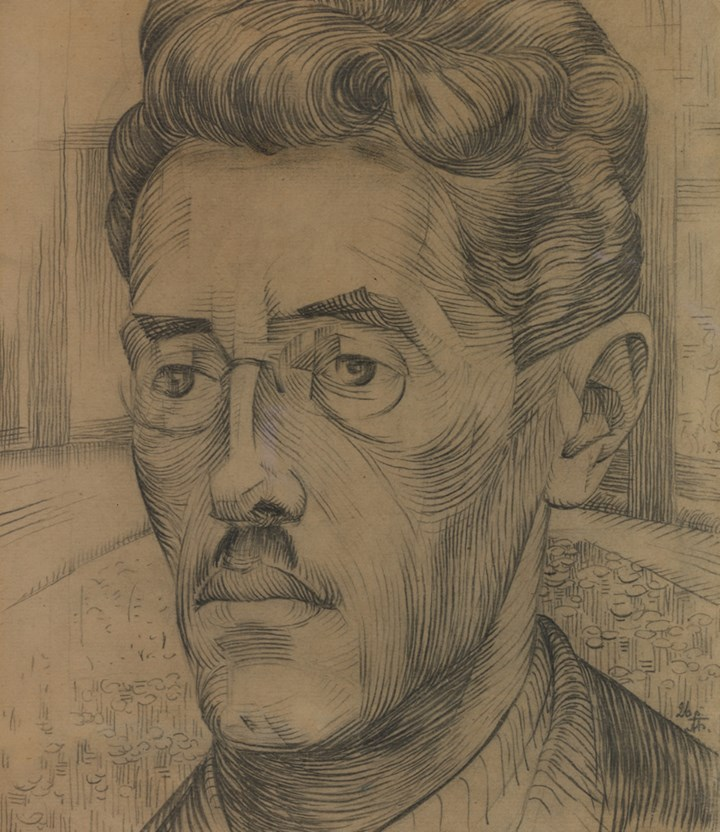 'Portrait of the artist's brother-in-law, Sergei Rudich'