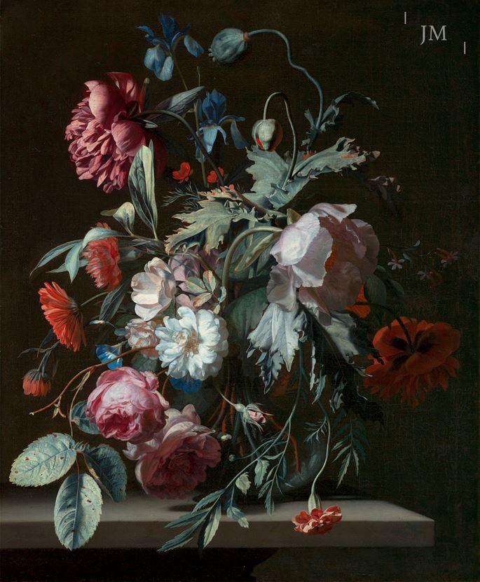 Simon Pietersz. Verelst - A Flowerpiece | MasterArt