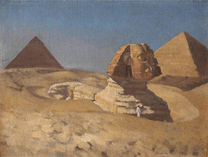 Jean-Richard Goubie - The Sphinx at Giza | MasterArt