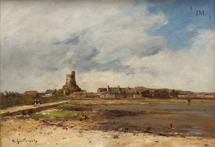 Antoine Guillemet - The Vauban Tower, St Vaast la Hougue  | MasterArt