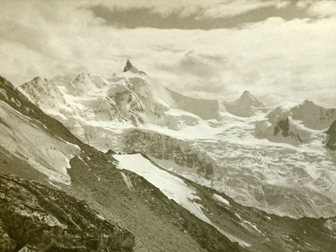 Arthur Gardner - The Zinalrothorn from the Tracuit Hut, Valais | MasterArt