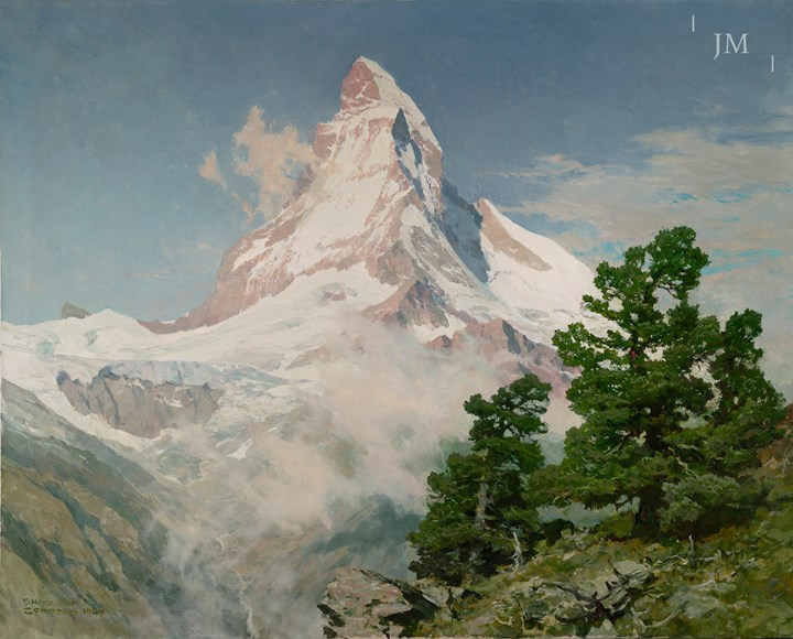 The Matterhorn from Riffelberg, Zermatt, Switzerland