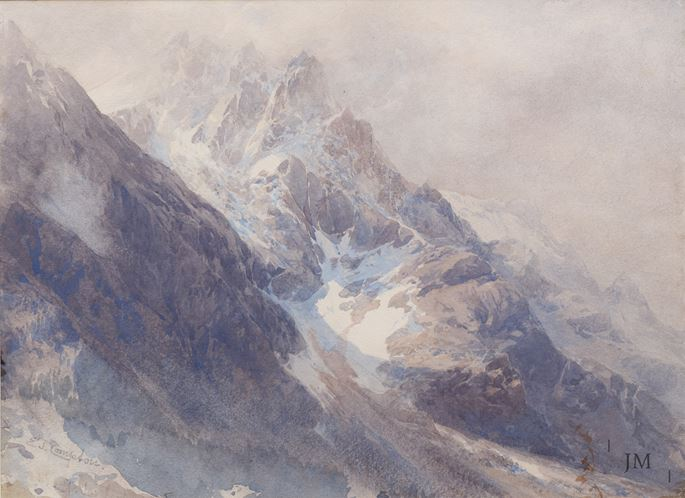 Edward Theodore Compton - The Ortler, South Tyrol | MasterArt