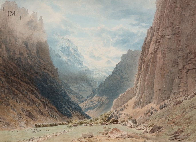 Henry Anelay - The Lauterbrunnen Valley | MasterArt
