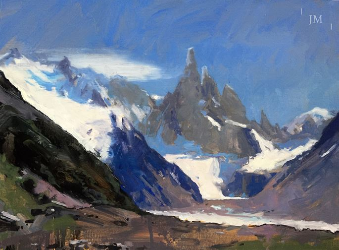 James Hart Dyke - Cerro Torre and Glacier Grande | MasterArt