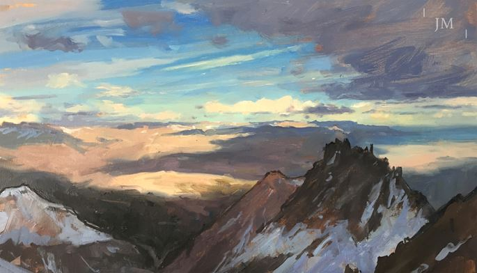 James Hart Dyke - Edge. From the summit of Mojon Rojo | MasterArt