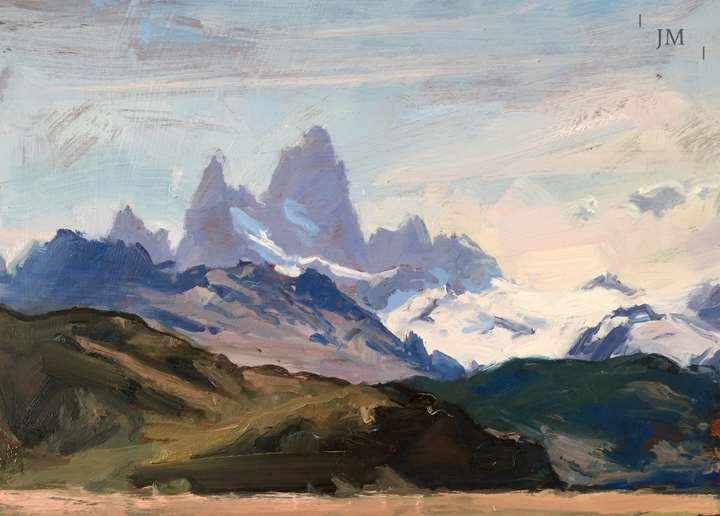 Fitz Roy from beyond El Chalten 2018