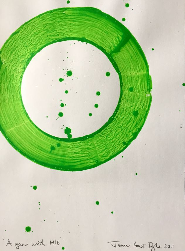 James Hart Dyke - Green ink 2011 - A year with MI6 | MasterArt