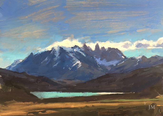James Hart Dyke - Plume, Torres del Paine | MasterArt