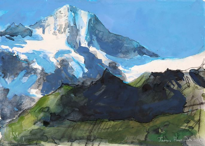 James Hart Dyke - The Breithorn, Lauterbrunnen Valley, Bernese Oberland | MasterArt