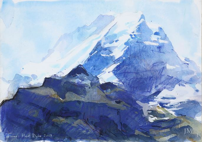 James Hart Dyke - The Jungfrau, Bernese Oberland | MasterArt