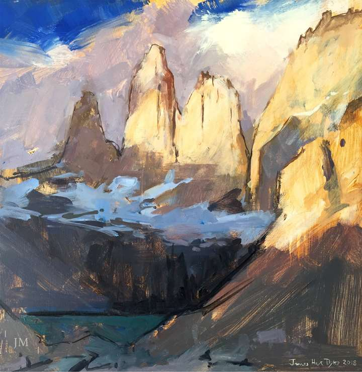 Torres del Paine, first light 2018