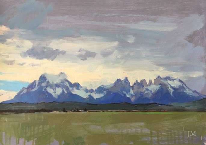 James Hart Dyke - Torres del Paine, greys 2018  | MasterArt