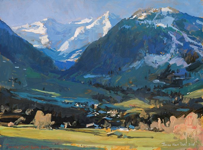 James Hart Dyke - Wildhorn and Spitzhorn, Gstaad, Switzerland | MasterArt