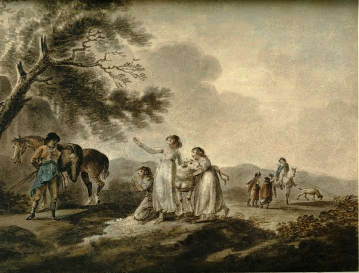 The Sale of the Pet Lamb