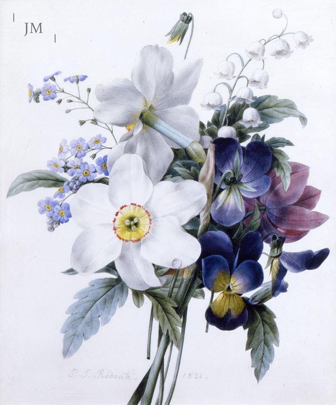 Pierre-Joseph Redouté - A spring bouquet | MasterArt