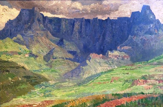 Rudolf Sauter - Drakensberg Mountains, South Africa | MasterArt