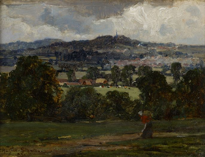 Sir Herbert Hughes-Stanton - Harrow on the Hill | MasterArt
