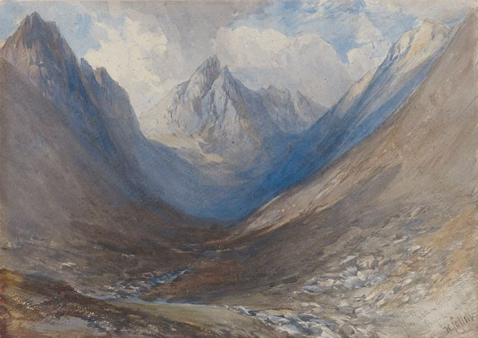 William Callow - Cir Mhor seen from Glen Rosa, Arran | MasterArt