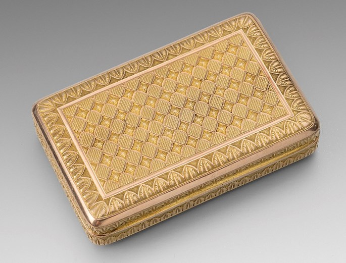 A 19th Century Austrian Two-Colour Gold Box | MasterArt