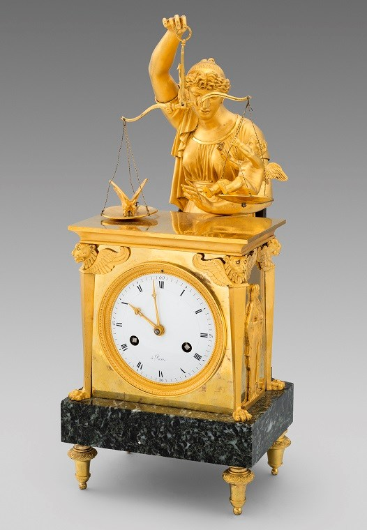 A French Empire Ormolu Mantle Clock | MasterArt