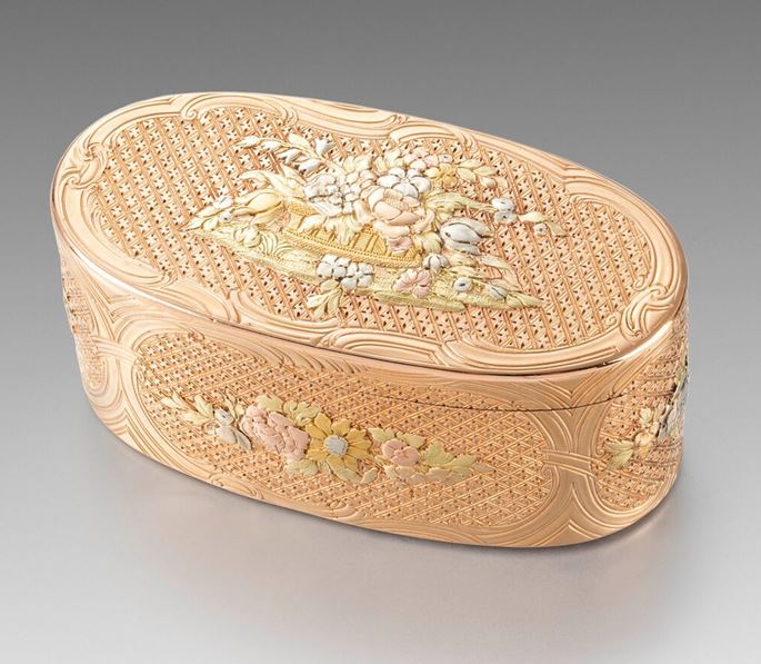 A German 18th Century Gold Box | MasterArt