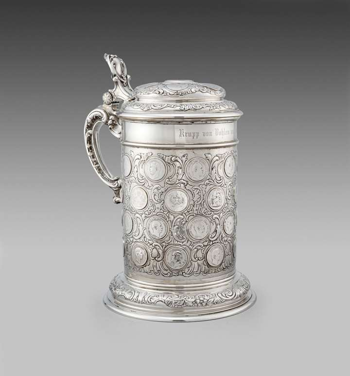 A German Coin Tankard
