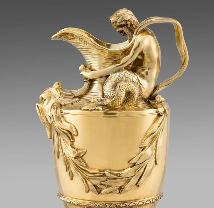 Goldsmith & Silversmith Co - A Magnificent Pair of Ewers | MasterArt