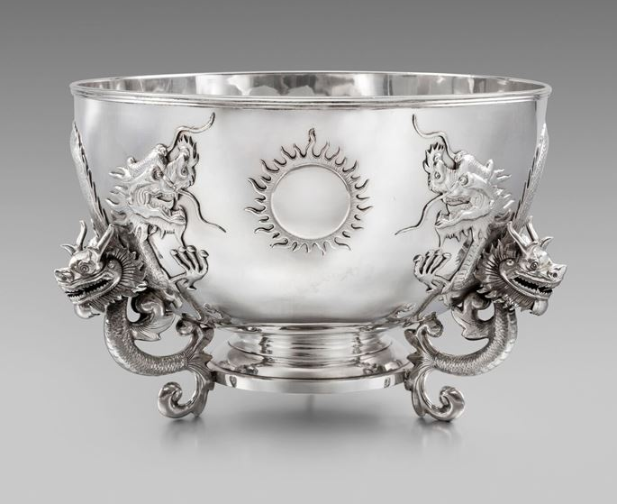 A Massive 19th Century Chinese Punch Bowl  | MasterArt