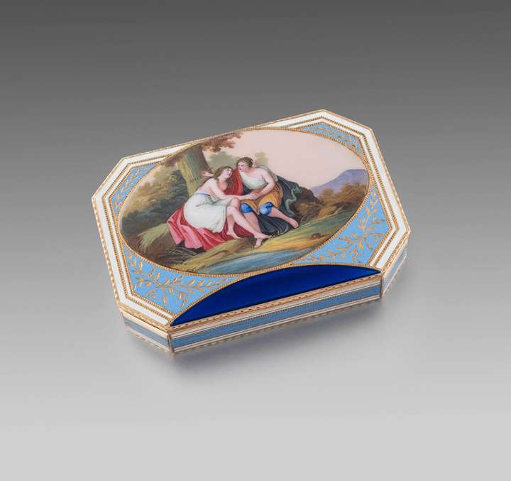 A Early 19th Century Snuff Box